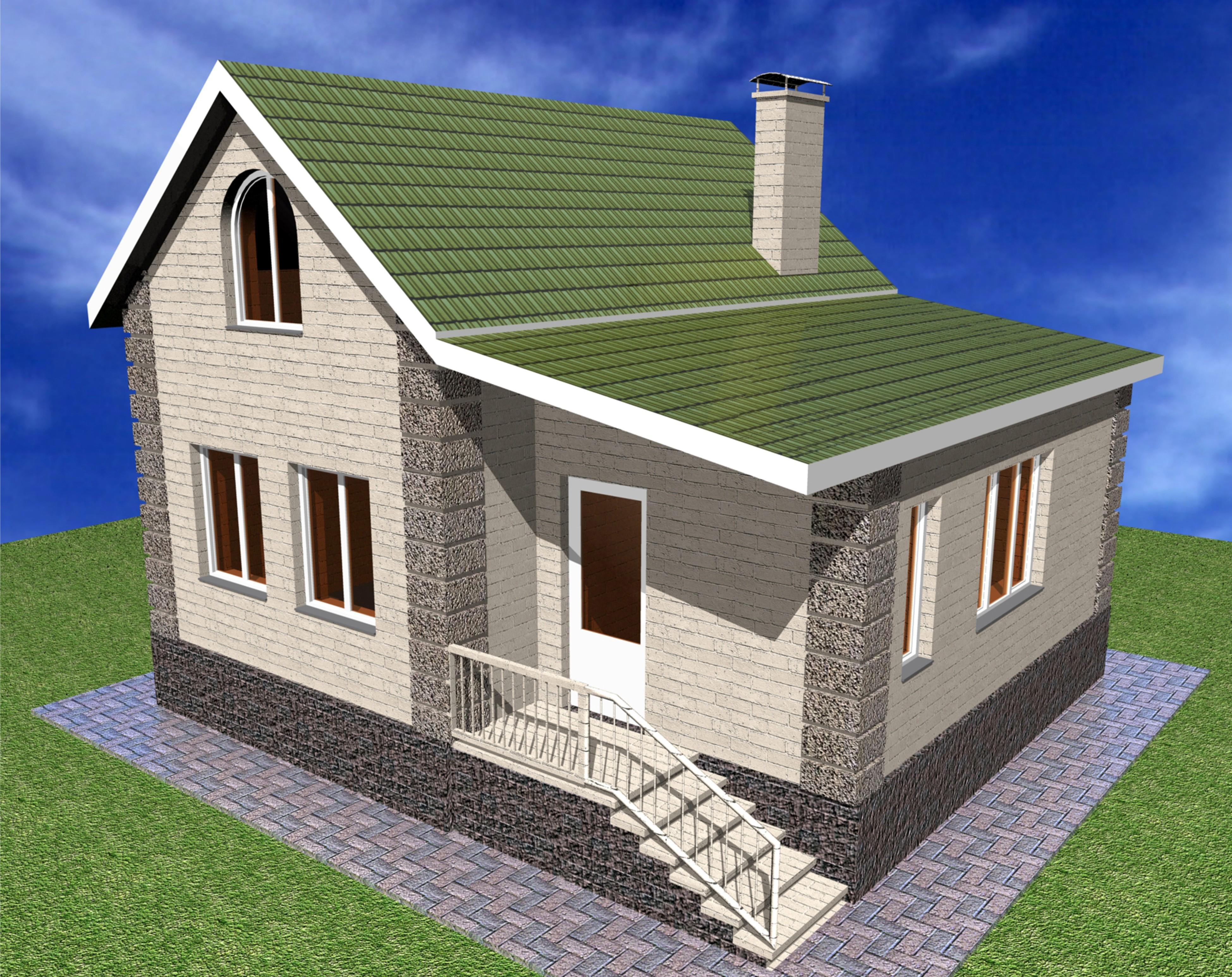 Дома типовой проект одноэтажного дома