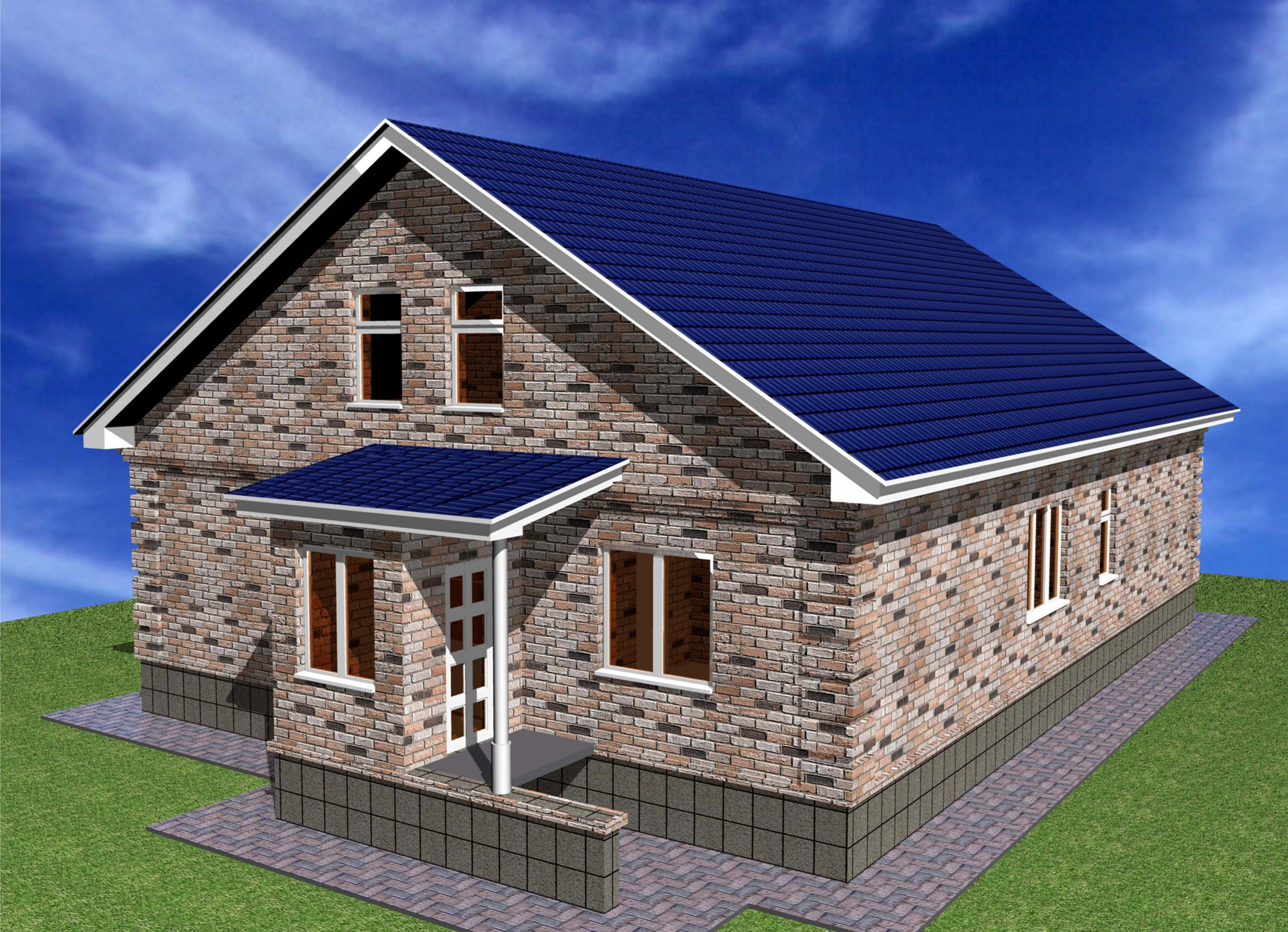 готов, небольшой двухквартирный дом из блоков фото армейский картинки рабочий